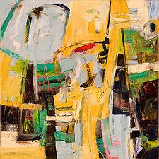 Whimsical 1 by Karen Scharer (Oil Painting)