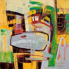 Whimsical 2 by Karen Scharer (Oil Painting)