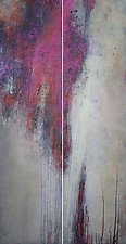 Pink Limerence by Victoria Primicias (Encaustic Painting)