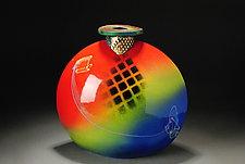 Bottle by Michael  Kifer (Ceramic Bottle)