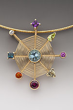 Constellation by Marie Scarpa (Gold & Stone Necklace)