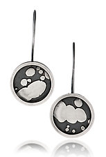 Circle Earrings by Patty Schwegmann (Silver Earrings)