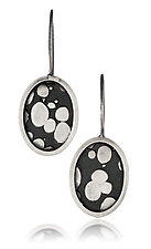 Oval Earrings by Patty Schwegmann (Silver Earrings)