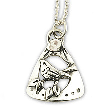 Treetop Pendant by Vickie  Hallmark (Silver Necklace)