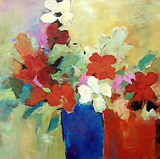 I Believe in Red by Filomena Booth (Acrylic Painting)