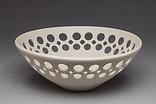 Half Pierced Bowl by Lynne Meade (Ceramic Bowl)