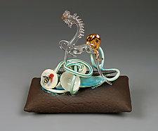 Pick me Up by Lin Xu (Ceramic Sculpture)