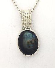Sigma Silver Labradorite Pendant by Marie Scarpa (Silver & Stone Necklace)