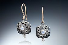 Celeste Earrings by Robin  Sulkes (Gold, Silver & Stone Earrings)