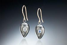 Amphora Earrings by Robin  Sulkes (Gold, Silver, & Stone Earrings)