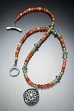 Dragon Necklace by Robin  Sulkes (Beaded Necklace)