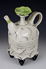 New Rose Tea by Laura Peery (Ceramic Teapot)