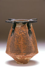 Ceremonial Bowl in Brown by Daniel Slack (Ceramic Vessel)