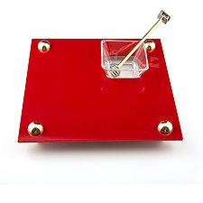 Apple and Honey Platter by Joy Stember (Metal Platter)