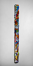 Swizzlestick by Helen Rudy  (Art Glass Wall Sculpture)