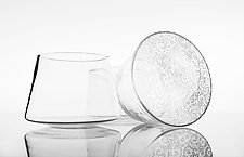 Lace Tumblers by Nick Chase (Art Glass Tumblers)