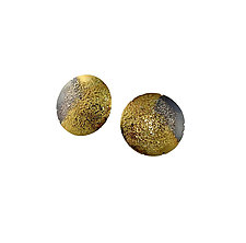 Nebula Post Earring by Jenny Reeves (Gold & Silver Earrings)
