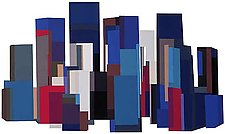 City by Barbara Zinkel (Serigraph Print)