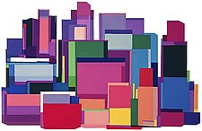 New York at Noon by Barbara Zinkel (Serigraph Print)
