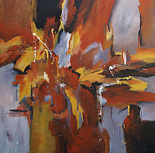 Watercourse by Nancy Eckels (Acrylic Painting)