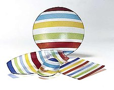 Lineware by Kathleen Ash (Art Glass Bowl)