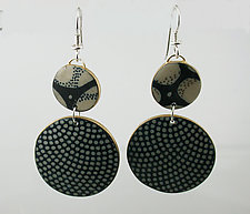 Circular Earrings by Louise Fischer Cozzi (Polymer Earrings)
