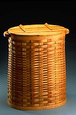 Large Hamper by Keith Raivo (Wooden Hamper)