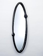 Chasing Mirror by Sylvie Rosenthal (Wood Mirror)