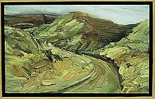 Mandeville Canyon Series, No. 11 by Marta Chaffee (Oil Painting)