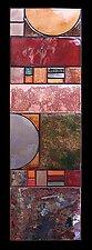 Half Sun Art Deco Panel by Kim Eubank (Metal Wall Art)