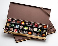 Chocolates: 27-Piece Box by Infusion Chocolates (Artisanal Chocolate)