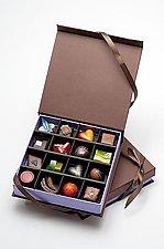 Chocolates: 16-Piece Box by Infusion Chocolates (Artisanal Chocolate)