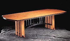 Gramercy Tavern Dining Table by Gregg Lipton (Wood Dining Table)