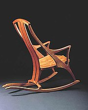 Rocker by Gregg Lipton (Wood Rocking Chair)