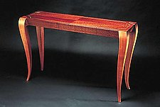 Gazelle Hall Table by Gregg Lipton (Wood Hall Table)