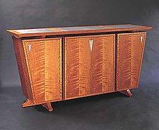 Keystone Sideboard by Gregg Lipton (Wood Cabinet)