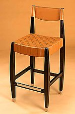 Gramercy Counter Stool by Gregg Lipton (Wood Stool)