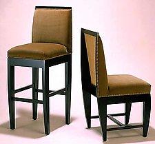 Tusk Stool & Chair by Gregg Lipton (Wood Stool & Chair)