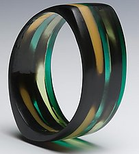 Out of Africa 1 by Velina Glass (Resin Bracelet)