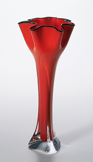 Tall Flower Top Vase