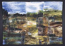 Maine/Schoodic Point II by Linda Levin (Art Quilt)