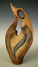 Not Knot III by Jan Jacque (Ceramic Sculpture)
