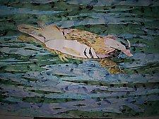 Mandarin Duck by Thomas Lo Cicero (Watercolor Painting)