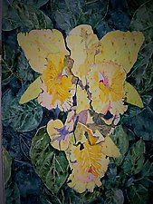 Yellow Orchids by Thomas Lo Cicero (Watercolor Painting)