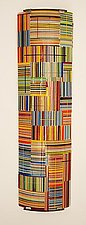 Color Series in Patchwork by Renato Foti (Art Glass Wall Sculpture)