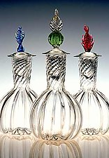 Wine Decanter by Robert Dane (Art Glass Decanter)