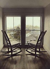 Attic Chairs by Vicki Reed (Hand-colored Photograph)