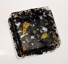 Optical Granite Coasters by Renato Foti (Art Glass Coasters)