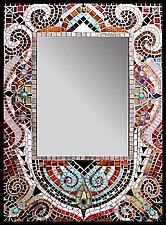 Moulin Rouge by Sandra Bryant and Carl Bryant (Mosaic Mirror)