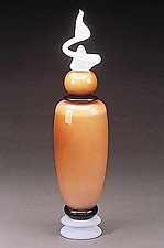 Neo Geo Cylinder by Eric Bladholm (Art Glass Vessel)